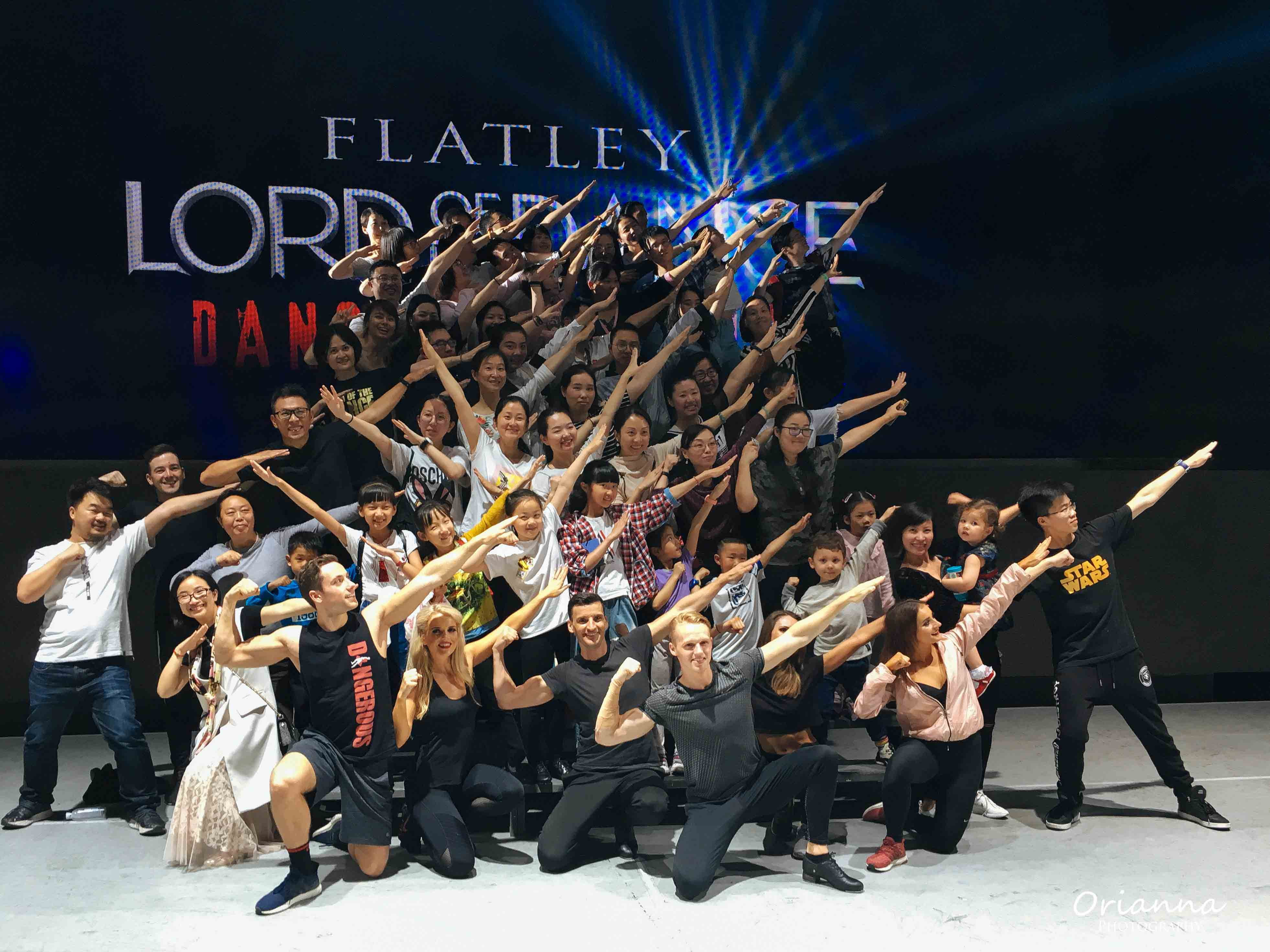 Lord of Dance Dance Experience